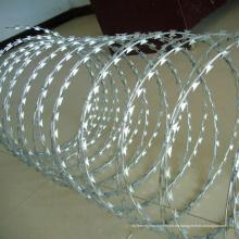 Alambre de púas de la concertina acortada de la bobina doble