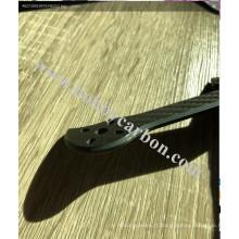 cadre de plaque d'immatriculation en fibre de carbone moto