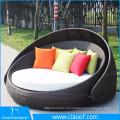 Jardim cama lazer vida ao ar livre móveis de luxo ao ar livre sol cama