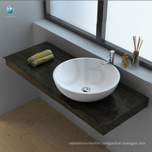 Table top acrylic resin stone bathroom sink price