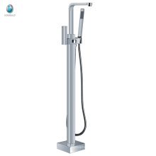 KFT-08 competitive price toillet hardware accessory multifuncitional single handle floor standing tub faucet