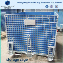 Logistic Warehouse Mesh Box Pallet Storage Cage