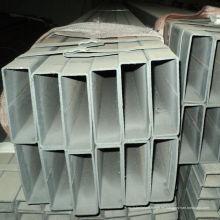 Tubo cuadrado soldado laminado en caliente con superficie pintada