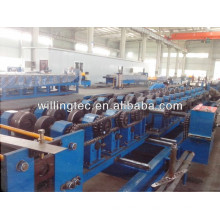 good quality customized c z shaped purlin roll forming machine