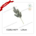 Árbol artificial plástico con la bola del ornamento de la Navidad y la flor H35-H110cm