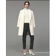 2016 New Design Hot Sale Fashion Winter Warm Women′s Slim Long Coat