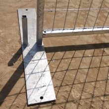 Canada high standard Galvanized/ PVC coated Temporary Fence