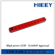 10 pulgadas Slim-Line LED de luz de identificación de la barra de luces LED de stop stop