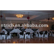 Hotel/Banquet chair covers, Satin chair cover,Satin chair sash