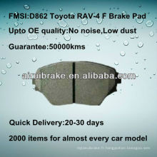 D862 semi-métallisé Toyota RAV-4 frein