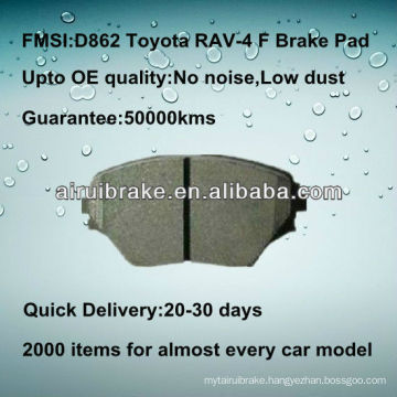 D862 semi-metallic Toyota RAV-4 brake pad