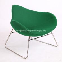 Cadeira de trenó de tecido de lã K2