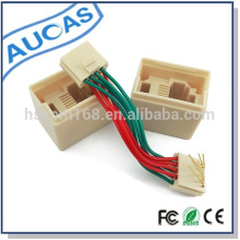 Alibaba wholesaler high speed modular adapter for rj45 network cable cheap price