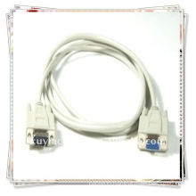 Premium White VGA male to female cable 15 pin monitor extension cable