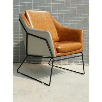 Única mobília moderna cadeira, cadeira de couro da sala de estar (XT07)