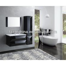 Estilo europeu e design novo MDF vaidade do banheiro