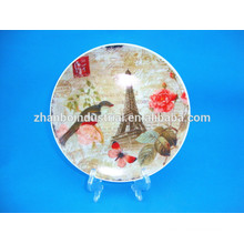 China Factory Personalized Ceramic Plate