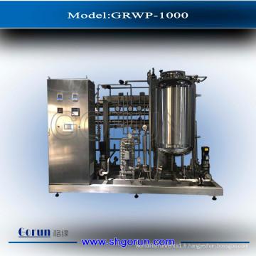 Usine de traitement de l'eau de RO pour le système de purification de l'eau par osmose inverse de dialyse