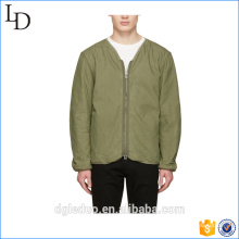100% Cotton New Zip Up Design Custom Mens Sports Wear Wholesale Bomber Jacket