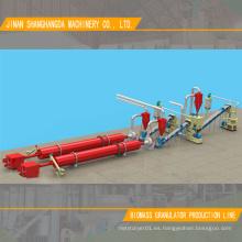 Línea de producción de palma granuladora