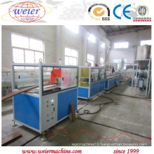 Economical WPC PVC Wood Plastic Profile Making Machine for Interior Decoration