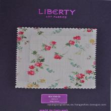 tela de algodón textil de liberty print