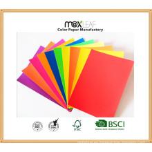 Tablero de papel del color (185GSM - 5 colores brillantes mezclados)