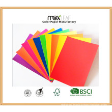 Color Paper Board (185GSM - 5 bright colors mixed)