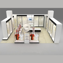 Fashion Exhibition Showroom Holz Display Stand