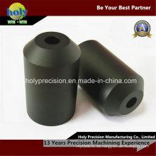 CNC-Kunststoff bearbeitete Teile, CNC-Drehteile für schwarzes Delrin