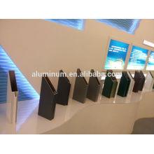 Производство профилей для настенных профилей из алюминиевого стекла