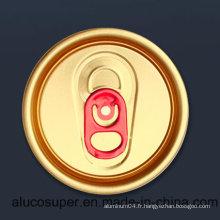 200 couvercle en coton à onglet rouge 50 mm