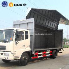 wing open truck box
