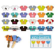 3D Soft PVC Key Caps