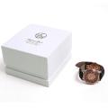 Изготовленная на заказ белая картонная бумажная коробка для часов