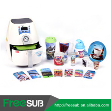 Mini 3D sublimation best heat press machine