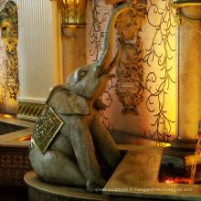 Fontaine populaire d'éléphant, fontaine de haute qualité (service fait sur commande)