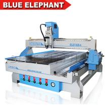 Chine Bleu Éléphant Cnc routeur 1325 meilleur prix 4 axes cnc routeur bois sculpture machine avec rotatif