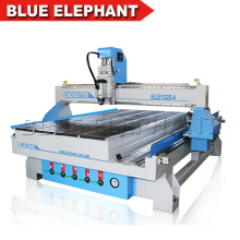 China Blue Elephant Cnc router 1325 best price 4 axis cnc router wood carving machine with rotary