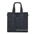 Black Fabric Shopping Bags for Men Women