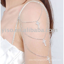 decorative cross rhinestone bra strap