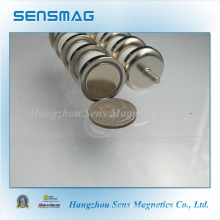 Permanent NdFeB Neodymium Hook Magnetic Assembly