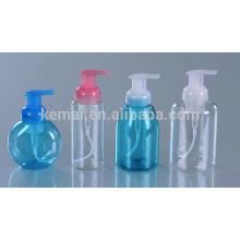 Frasco de bomba de espuma de plástico para embalagem de cosméticos