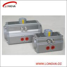 Accionamiento neumático de la aleación de aluminio del tipo rotatorio