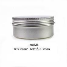 Tarro de Jarro de Aluminio de 180ml Tarro de Jarro de Aluminio para Embalaje de Cosmética