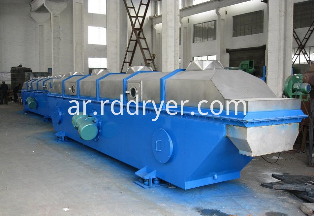 vibrating fluidized dryer