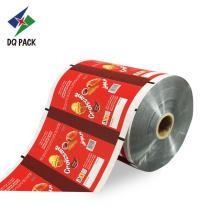 Estoque de rolo de embalagens plásticas para alimentos