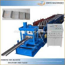 Stahl u purline rollenformmaschine / metall u - sektion rollenformmaschine
