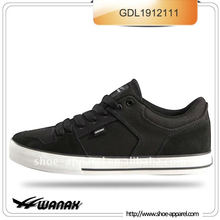 black classical skate shoes