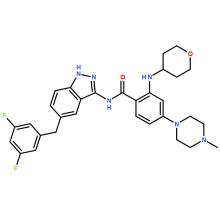 Высококачественный API Entrectinib CAS 1108743-60-7